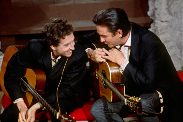 Bob Dylan e Johnny Cash